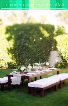 outdoor luncheon