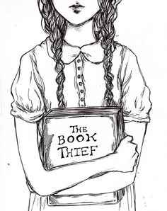 the book thief • beverlyblue. Reading this and enjoying it right now:)