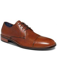 Cole Haan Men's Shoes, Lennox Hill Cap-Toe Oxfords