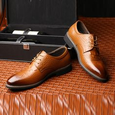 Ericdress All Match Plain Lace-Up Men's Oxfords|Embellishments:Brush Off