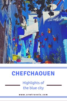 Chefchaouen is a small town in northeastern Morocco situated in the heart of the Rif Mountains. With all streets painted in different shadows of blue, it's one of the most picturesque places in Africa. But what does this exceptional place have to offer?