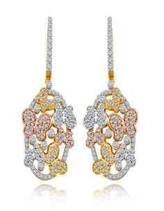 Online Diamonds Jewellery | diamonds4you.com Dazzling Earrings A gorgeous set of cut out earrings in rose gold, The dazzling earrings are a simple yet unique artwork of ancient times. Magnify the beauty of your outfit by pairing these earrings with dazzling pendant - See more at: http://www.diamonds4you.com/item/21302103.aspx#sthash.hv60tL81.dpuf