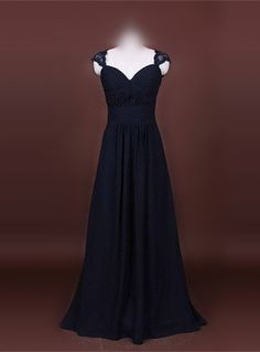Find More Evening Dresses Information about Cap Sleeves Floor Length Keyhole Back Black Chiffon Evening Dresses,High Quality chiffon evening dress,China evening dress Suppliers, Cheap evening chiffon dress from Gama Wedding Dress on Aliexpress.com
