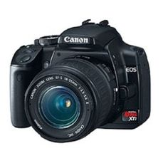 Canon Digital Rebel XTi 10.1MP Digital SLR Camera with EF-S 18-55mm f/3.5-5.6 Lens (Black) (Electronics)