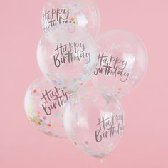 Shop these pastel happy birthday confetti balloons by Ginger Ray These colourful Happy Birthday balloons will brighten up your party! With express delivery. Happy Birthday Balloons, Happy Birthday Quotes, Happy Birthday Images, Happy Birthday Greetings, Birthday Messages, Girl Birthday, Birthday Ideas, Pink Happy Birthday, Confetti