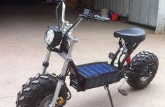 Daymak Beast - Has solar recharging built in!