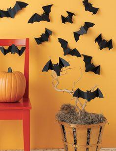 ms halloween decor bats
