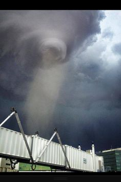 Tornado at the Denver airport!