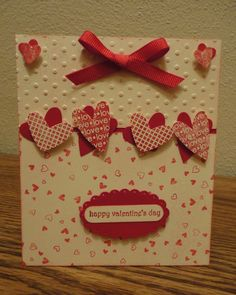 Image result for stampin up valentine cards