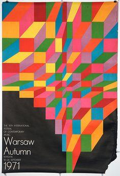 www.wordsandeggs.tumblr.com    Warsaw Autumn 1971, Hubert Hilscher