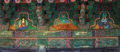 석굴암, 불국사[Seokguram Grotto and Bulguksa Temple] - 무설전 처마문양
