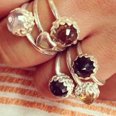 We have a selection of Meadowlark Mini Protea rings in time for Xmas
