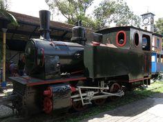 Antigua Locomotora de Caracas,museo del transporte,Foto:Angel Obertein
