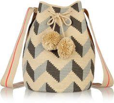 Sophie Anderson Lilia crocheted cotton shoulder bag