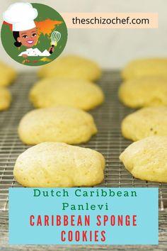 Panlevi - Caribbean Sponge Cookies - these cookies from the Sephardic community of Curacao are a delicious tea time snack, #cookies #kosher #caribbeanfood #spongecookies #holidaycookies Thia Food, Love Food, My Recipes, Italian Recipes, Snack Recipes, Delicious Cookie Recipes, Delicious Desserts, Easy Homemade Cookies, Recipe Creator