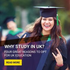 The UK is a highly popular study abroad destination for international students, and for a good reason! Here are the top 4 reasons why you should live and study in the UK. University Rankings, World University, Student Enrollment, Uk Universities, Colleges, Study In London, Uk Destinations, Student Studying, Gap Year