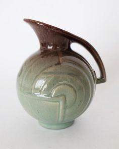 Online veilinghuis Catawiki:  C.J. Gellings voor Potterie Kennemerland - art deco kan