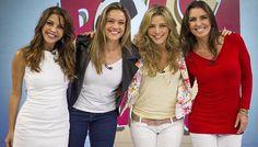 Globo copia programa da RedeTV! de mulheres discutindo futebol | Notas TV - Yahoo TV