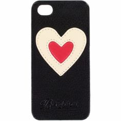 Heart Leather iPhone 5 Case  available at #Brighton