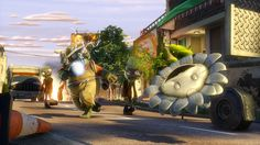 Plants vs. Zombies: Garden Warfare is a multiplayer third-person shooter and tower defense video game.