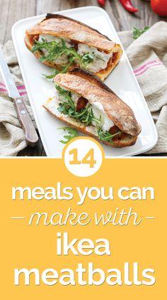 Ikea Meatballs, Beef And Pork Meatballs, Veggie Meatballs, Vegetarian Meatballs, How To Cook Meatballs, Veggie Ball Recipe, Ground Meat Recipes, Spaghetti, Vegan Burgers