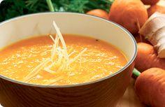 Gulerodssuppe med appelsin og ingefær | Altomdiabetes
