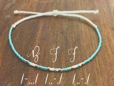 BFF Morse Code Friendship Bracelet - Best Friend Gift - Beaded Bracelet - Best Friend Bracelet - Best Friend Forever - Best Friend Birthday