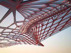Emergent Architecture Tom Wiscombe   Emergent - Tom Wiscombe — Novosibirsk Summer Pavilion