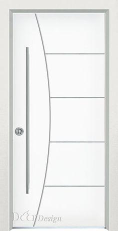 עכשיו ב #דורדיזיין דגמים בלבן New Door Design, Front Gate Design, Bedroom Door Design, Wooden Door Design, Grey Interior Doors, Door Design Interior, Wooden Glass Door, Casa Top, Mdf Doors