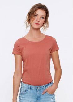 3d6fef9566413d Fair Tees // Sofia - Salty Rose Classic Ladies' T-Shirt Ethical Fashion