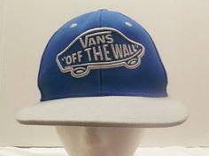 0abf4f295ab Vans Off The Wall Blue Hat Adjustable Cap  VANS Vans Off The Wall