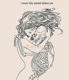 Drawing Skull Tattoo Life 35 Ideas For 2019 16 Tattoo, Tattoos, Tattoo Life, Art And Illustration, Skeleton Art, Skeleton Drawings, Dark Art Drawings, Skull Art, Aesthetic Art