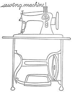 Sewing machine--found @Abigail Phillips Regan Truax://qisforquilter.com/category/quilts/