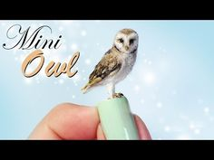 Creating Dollhouse Miniatures: Miniature Owl Tutorial