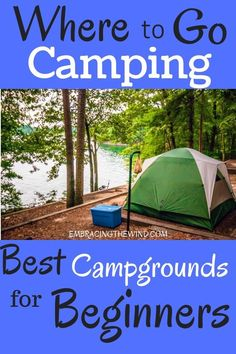 Where to go camping for newbies Where to go camping for newbies,Camping Are you new to camping and outdoor adventure? Get the scoop on the best campgrounds for beginner campers! Camping Guide, Camping Checklist, Camping Essentials, Camping Survival, Camping Meals, Survival Prepping, Tent Camping, Camping Hacks, Outdoor Camping