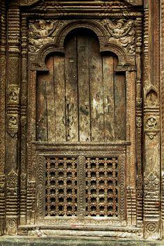 Kumbheshwor Mahadev Temple - Lalitpur, Nepal door