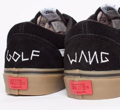 "Vans Syndicate Old Skool Pro ""S"" Golf Wang (Black/Gum) - Consortium."