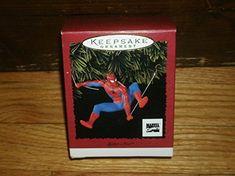 Hallmark Keepsake Ornament 1996 Edition Spider-man of Marvel Comics New in Box @ niftywarehouse.com