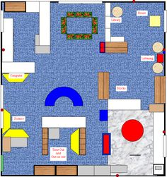 Centers For Pre Kindergarten Classrooms Classroom Layout