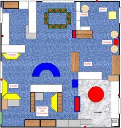 Classroom Floor Plan Creator : ... Layout  Get a template for designing your classroom floor plan here