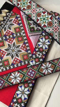 Made by Inger Johanne Wilde Cross Stitch Designs, Floral Tie, Quilt Blocks, Quilts, Beads, Farmhouse Rugs, Hardanger, Beading, Quilt Sets