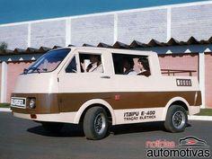Gurgel Itaipu E400 Cadillac Eldorado, Motor A Diesel, Electric Van, Electric Vehicle, Volkswagen, Vanz, Miniature Cars, Cute Cars, Car Brands