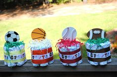 Sports Themed Baby Shower Cakes Ideas
