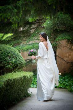 Vestido de Beatriz Álvaro. #Bodas #Eventos #Novias