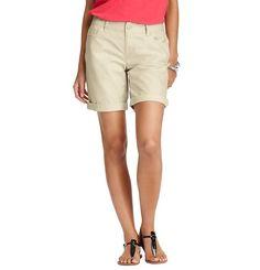 Boyfriend Cotton Poplin Shorts with 10 Inseam Modest Shorts, Casual Shorts, Loft, Bermuda Shorts, Boyfriend, Denim, Stylish, How To Wear, Cotton
