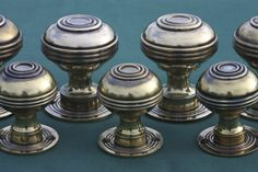 Brass Door Knobs Bloxwich Design. Great for Georgian doors. Available in two sizes and in cupboard knobs. http://www.priorsrec.co.uk/bloxwich-georgian-large-brass-door-knobs/p-3-22-23-51