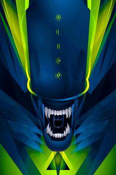Alien Origin, Saga Art, Aliens Colonial Marines, Giger Alien, Night Sky Stars, Psychedelic Colors, Alien Tattoo, Space Aliens, Alien Vs Predator