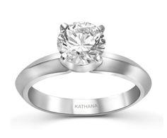 Women Diamond Ring : ENG155 Retail Price : Rs.164400.00