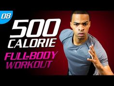 35 Min. Brutal Body Burn | 500 Calorie HIIT MAX Day 08 - YouTube