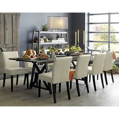 Curran Black Dining Chair  Dining Chairs Crates And Barrels Endearing Barrel Dining Room Chairs Decorating Inspiration